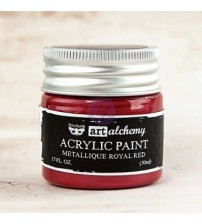 Art Alchemy Acrylic Paint - Royal Red Metallic