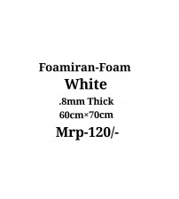 Foamiran - 0.8mm - White