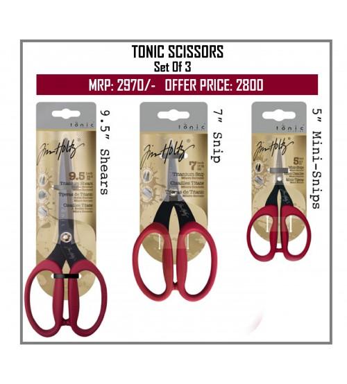 Tonic Scissors - Sets Of 3