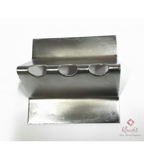 Tool - Soldering Iron Stand - 3 slot - Silk flower