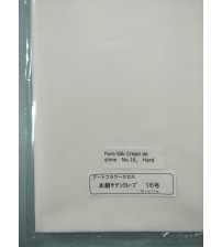 Fabrics - Pure Silk Crepe De Shine - Hard No -16 - Silk Flower