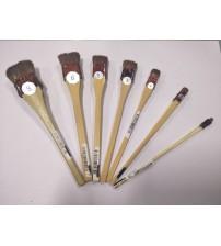 Tool - Silk Flower - Brushes [set of 7]