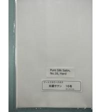 Fabrics - Pure Silk Satin - Hard No -16 - Silk Flower