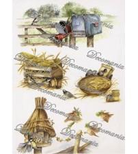 Decomania - Rice Paper - 5002 - 48X33cms.