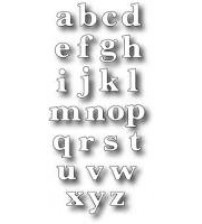 Die-Classic Lower Alphabet