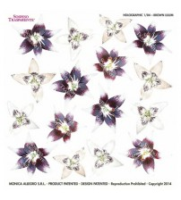 Sospeso Holographic Sheets - Brown Lilium